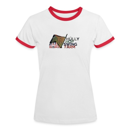 Hülly Hop Swing Farm - Frauen Kontrast-T-Shirt