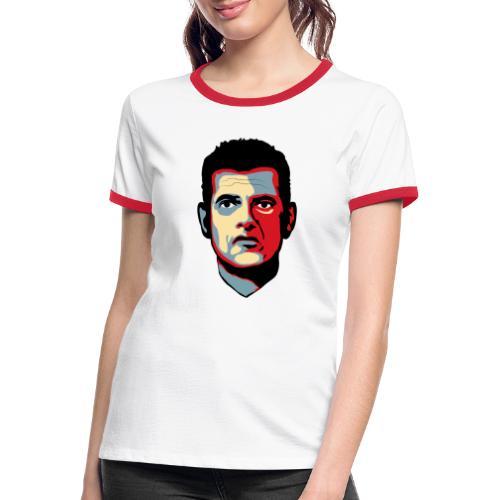 Corona DK 2020 - Dame kontrast-T-shirt