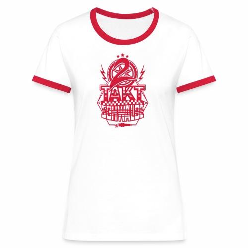2-Takt-Schwalbe / Zweitaktschwalbe - Women's Ringer T-Shirt