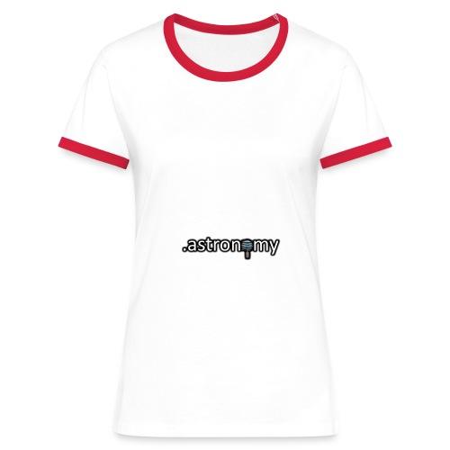 Astronomy Logo - Women's Ringer T-Shirt