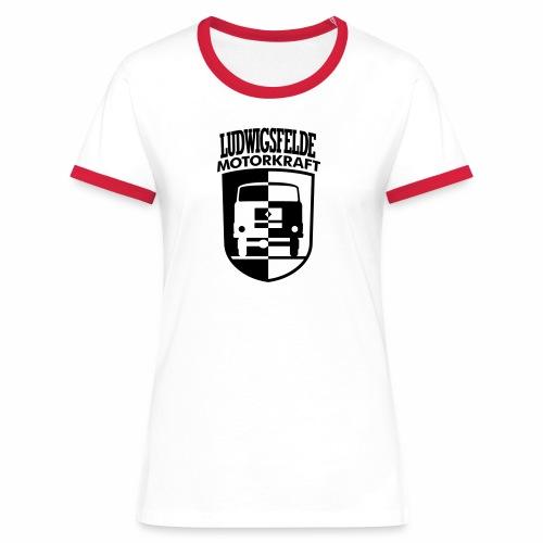 IFA Ludwigsfelde Motorkraft coat of arms - Women's Ringer T-Shirt
