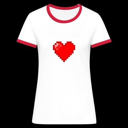 Pixel Love - Women's Ringer T-Shirt