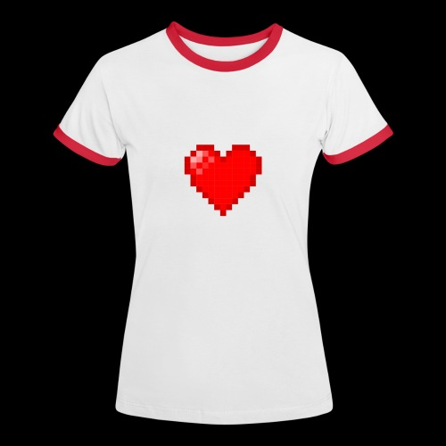Pixel Love - Women's Ringer T-Shirt
