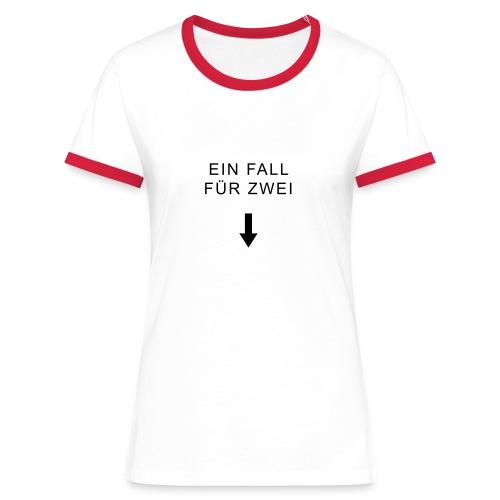 sex fallfuerzwei - Frauen Kontrast-T-Shirt