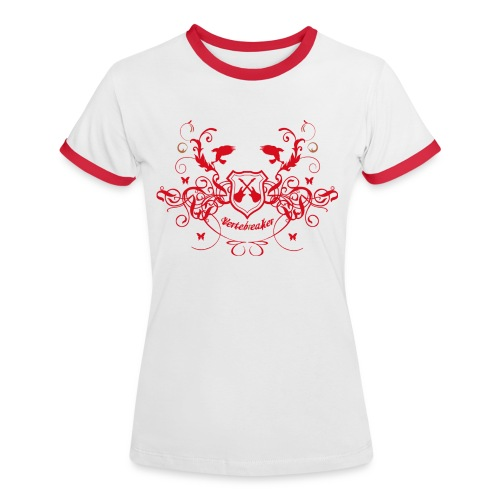 shieldrouge2000 - T-shirt contrasté Femme