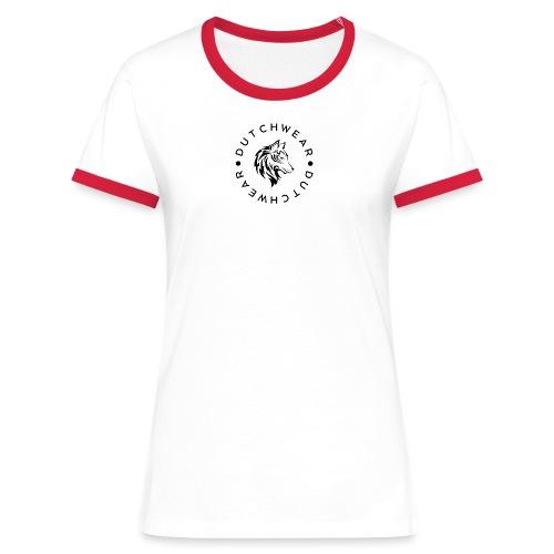 DUTCHWEAR - Vrouwen contrastshirt