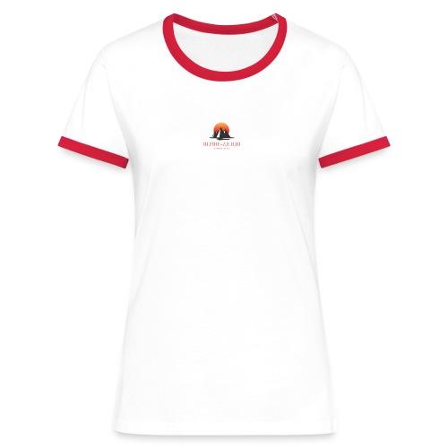 III.FIRE-Z.E.R.III - T-shirt contrasté Femme