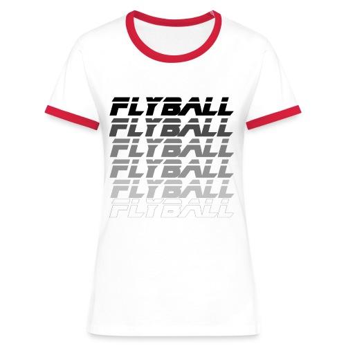 fly02 - T-shirt contrasté Femme