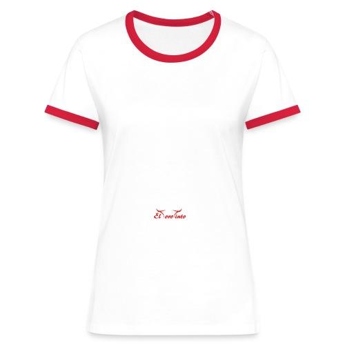 ett11 - T-shirt contrasté Femme