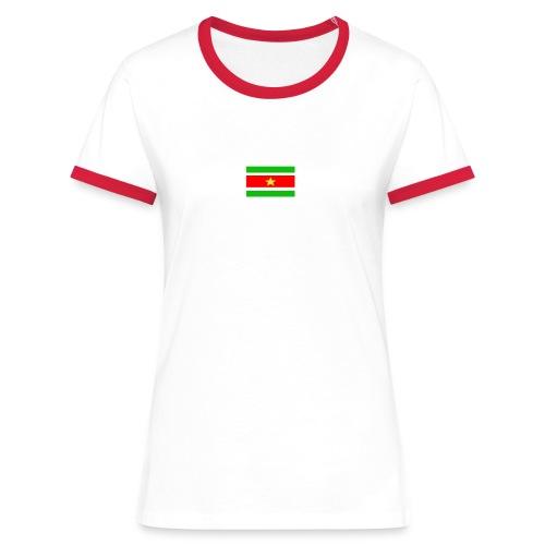 mati surivlag - Vrouwen contrastshirt