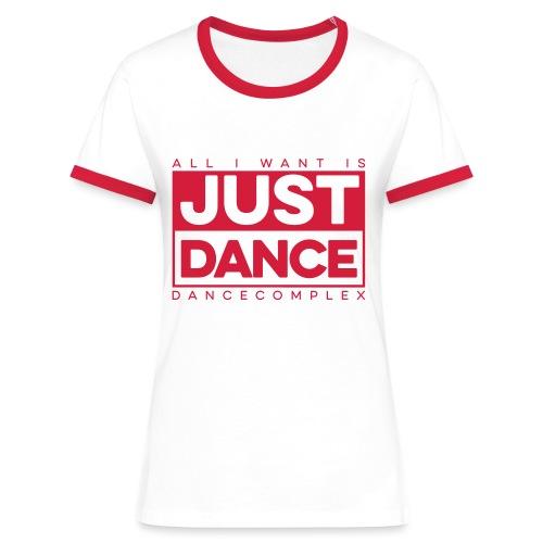 DC JustDance - Frauen Kontrast-T-Shirt