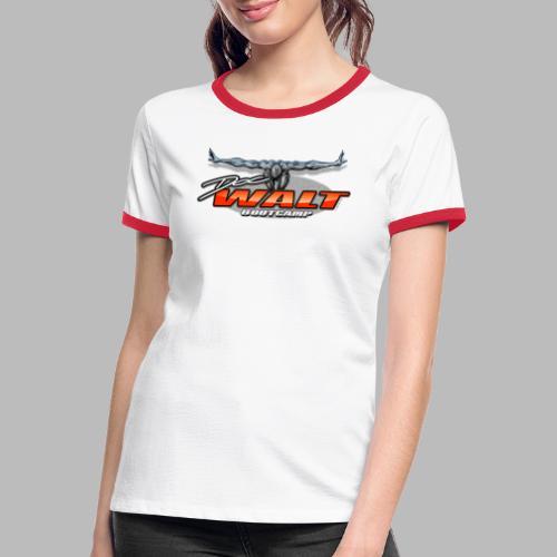 DocWalt / DoubleBrand (2fach-Logo Variante) - Frauen Kontrast-T-Shirt