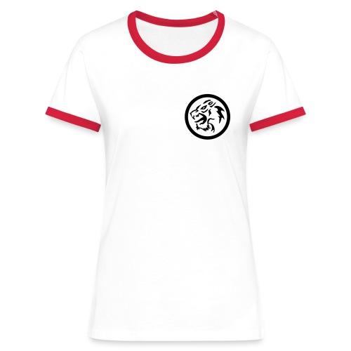 kreiswolf 1 bernhard wastyn - Frauen Kontrast-T-Shirt