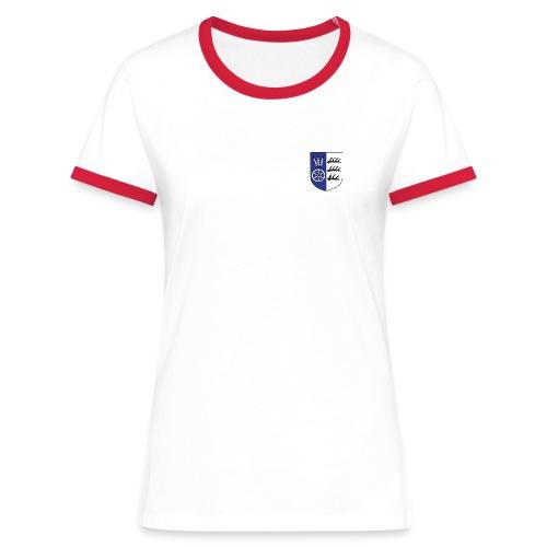wappen marktvolk - Frauen Kontrast-T-Shirt