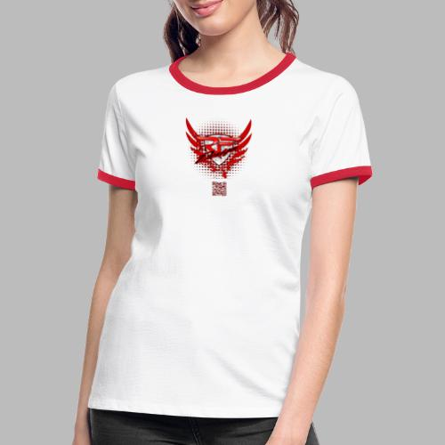 RFD_2PRINT (bitte max. 40°/verkehrt waschen) - Frauen Kontrast-T-Shirt