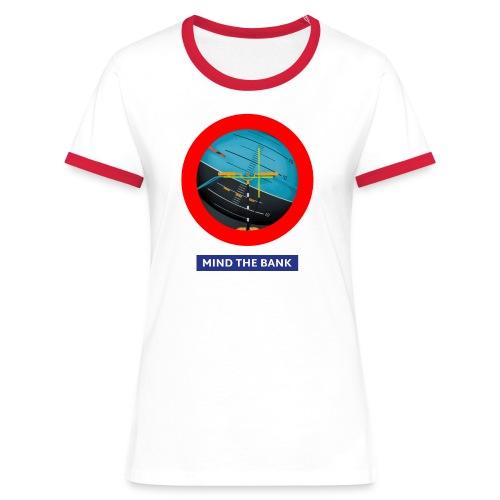 mindthebank1 - Frauen Kontrast-T-Shirt