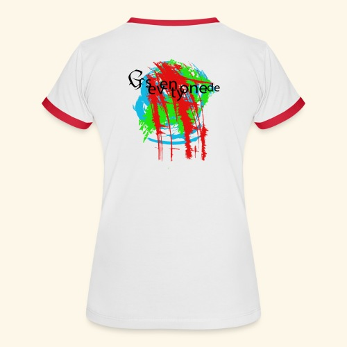 G seventy one Blood - Frauen Kontrast-T-Shirt