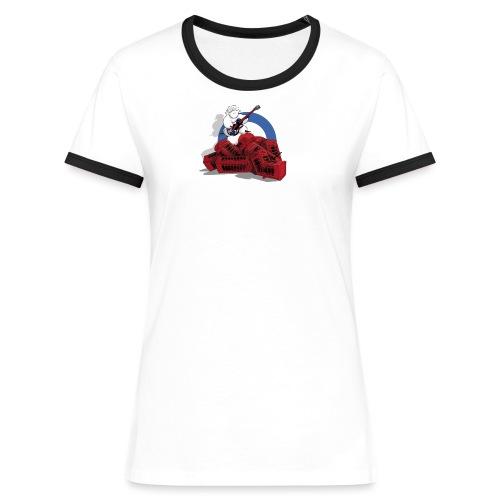 Jack Mout - T-shirt contrasté Femme