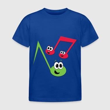 Fugly Noten - Kinder T-Shirt