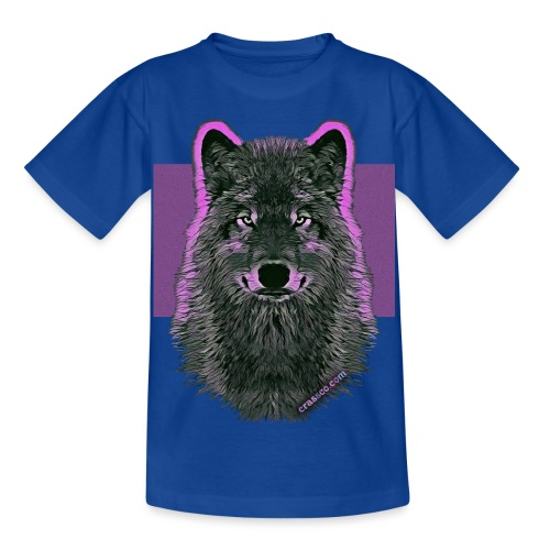 WOLF PINK IN LOVE - Kinder T-Shirt