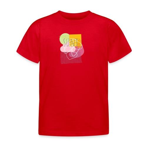 Suntime - Børne-T-shirt