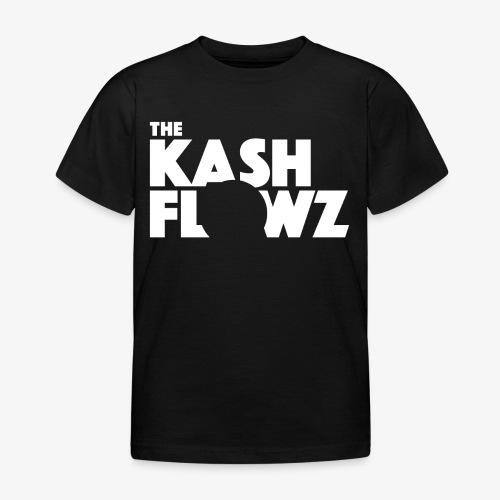 The Kash Flowz Official Logo White - T-shirt Enfant