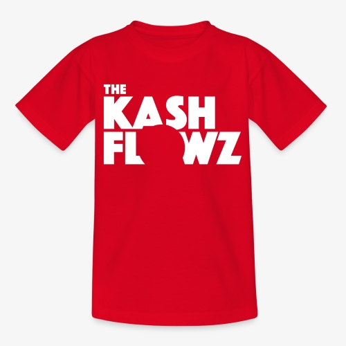 The Kash Flowz Official Logo White - T-shirt Enfant