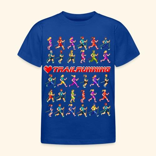 LOVE TRAILRUNNING PIXEL - Maglietta per bambini