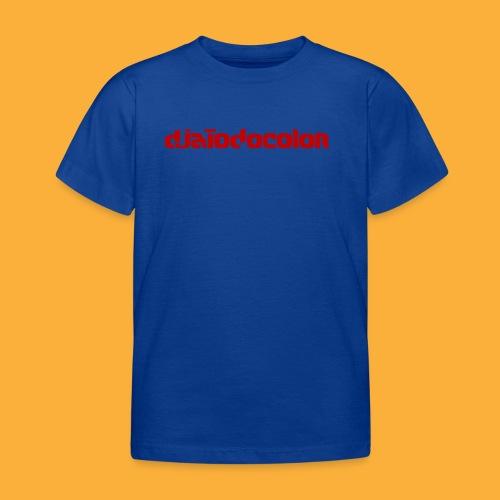 DJATODOCOLOR LOGO ROJO - Camiseta niño