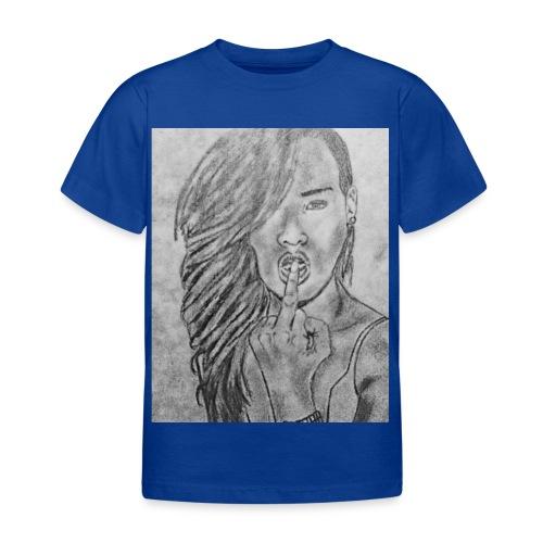 Jyrks_kunstdesign - Børne-T-shirt