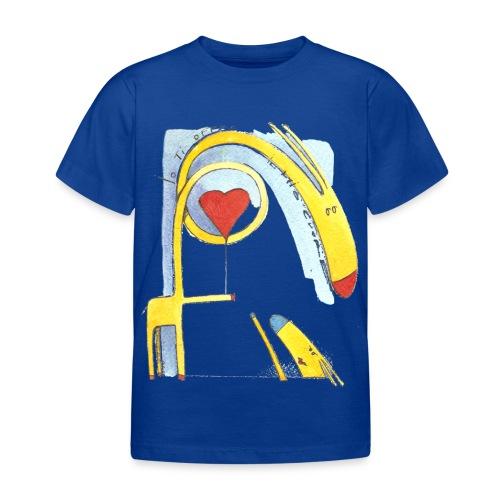 Giraffa innamorata - Maglietta per bambini