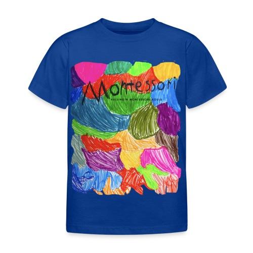 Coloured Montessori - Lasten t-paita