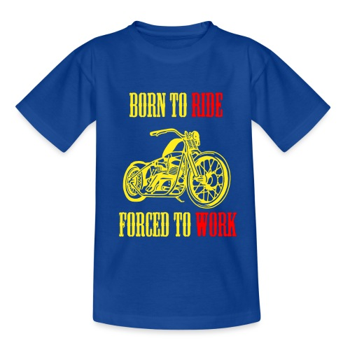 BORN TO RIDE - T-shirt Enfant