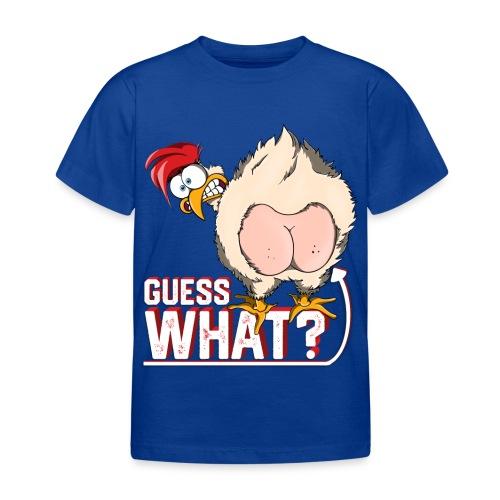 GuessWhat Chicken Butt | Chicken Lover Farm - Maglietta per bambini