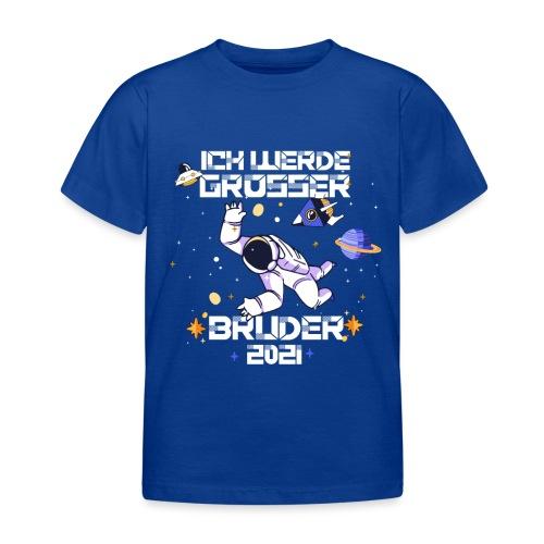 Großer Bruder 2021 Astronauten Astronaut Planeten - Kinder T-Shirt