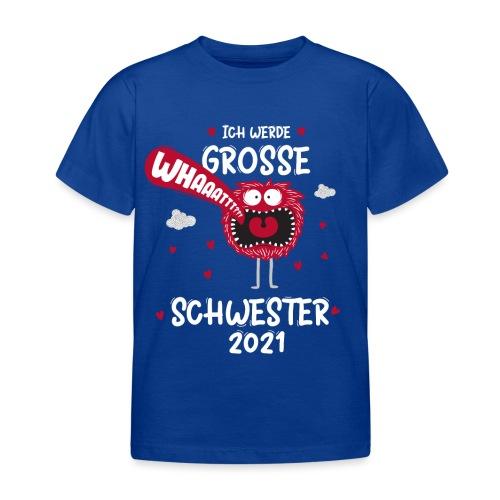 Großer Bruder 2021 lustiges Monster - Kinder T-Shirt