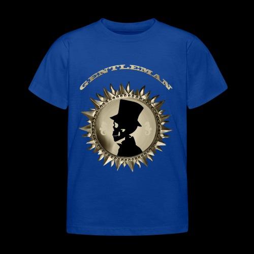 TÊTE DE MORT SILHOUETTE PORTRAIT GENTLEMAN - T-shirt Enfant
