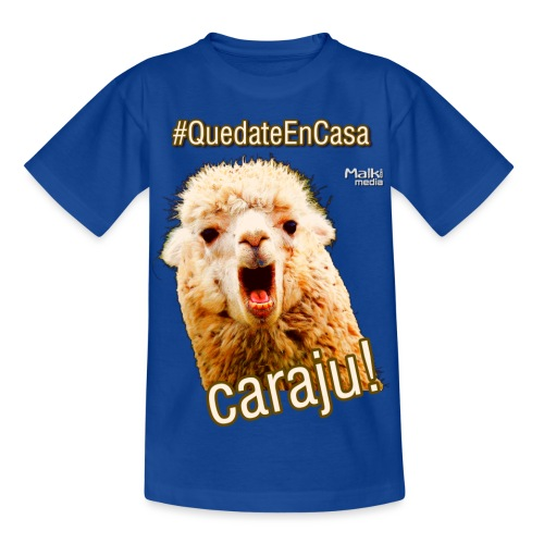 Quedate En Casa Caraju - Camiseta niño