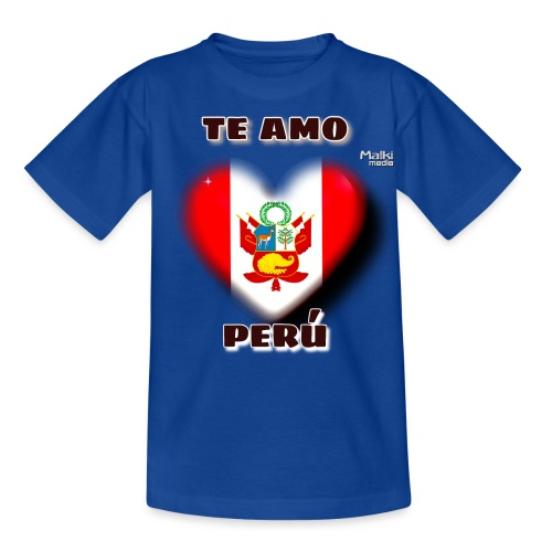 Te Amo Peru Corazon - Kids' T-Shirt