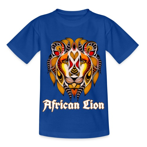 African Lion - T-shirt Enfant