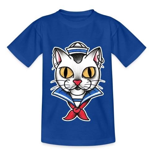 Sailorcat - Maglietta per bambini