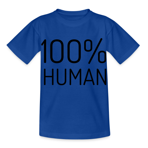100% Human - Kinderen T-shirt