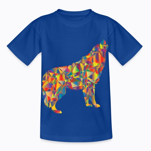 howling colorful - Kids' T-Shirt
