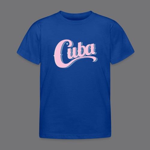 CUBA VINTAGE Tee Shirt - Kids' T-Shirt