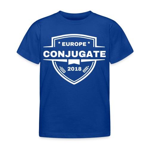 Conjugate white - T-shirt barn