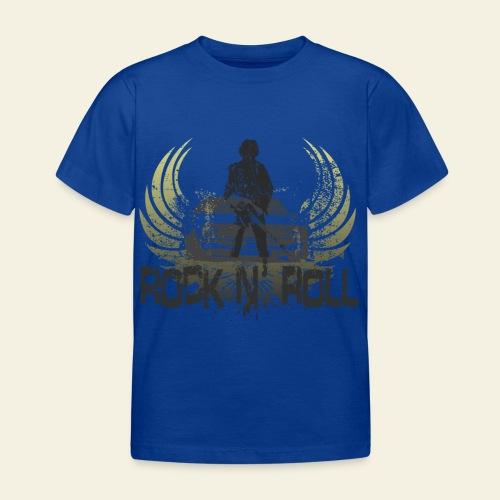 rock n roll camaro - Børne-T-shirt