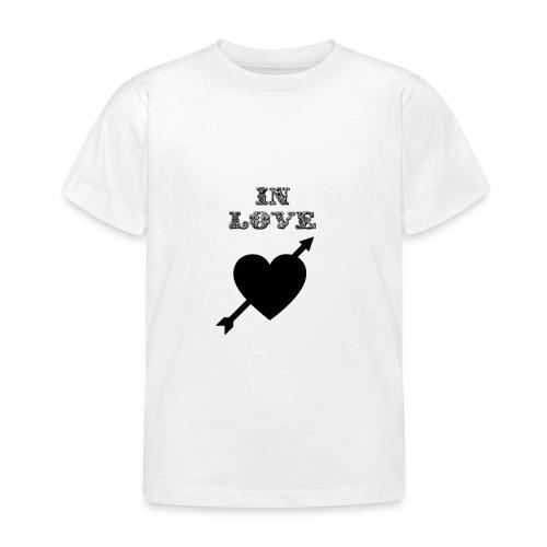 I'm In Love - Maglietta per bambini