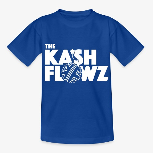 The Kash Flowz Official Bomb White - T-shirt Enfant