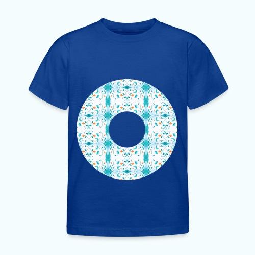 Hippie flowers donut - Kids' T-Shirt