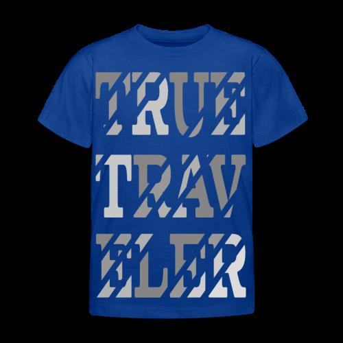 True Traveler Grey design - Lasten t-paita